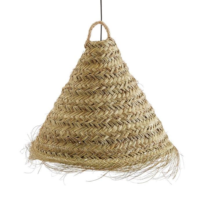 suspension feuille de palmier wesoko naturel la redoute interieurs la redoute. Black Bedroom Furniture Sets. Home Design Ideas