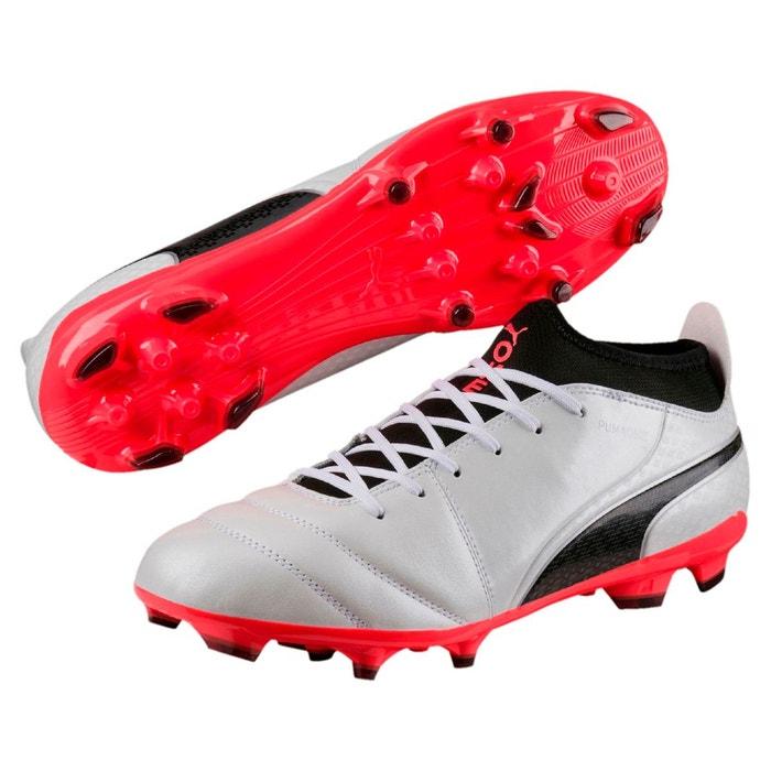 Chaussure de foot one 17.3 ag pour homme white-black-coral Puma
