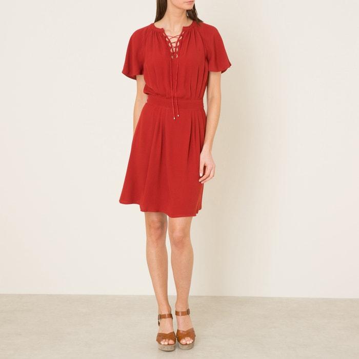 fef635c39c516 Robe caruso Sessun rouge