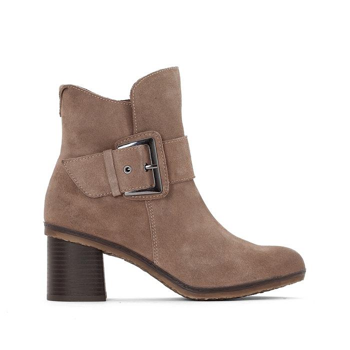 afbeelding Boots in leer 25403-27 TAMARIS