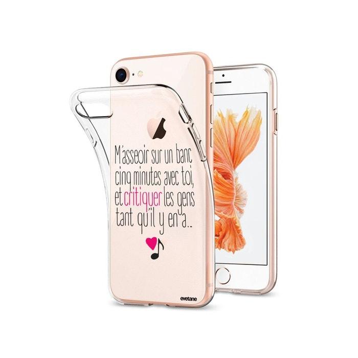 coque iphone 8 souple transparente