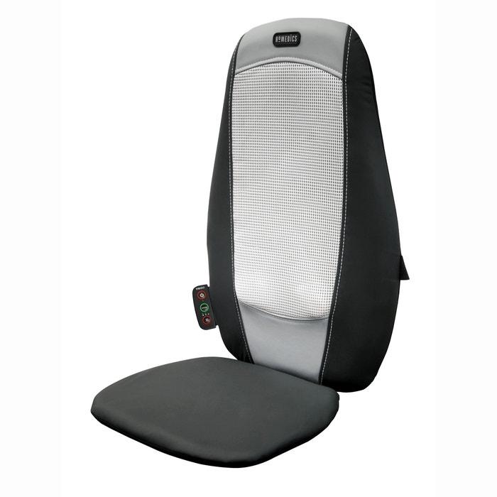 si ge massant shiatsu du dos sbm 195 homedics noir gris la redoute. Black Bedroom Furniture Sets. Home Design Ideas