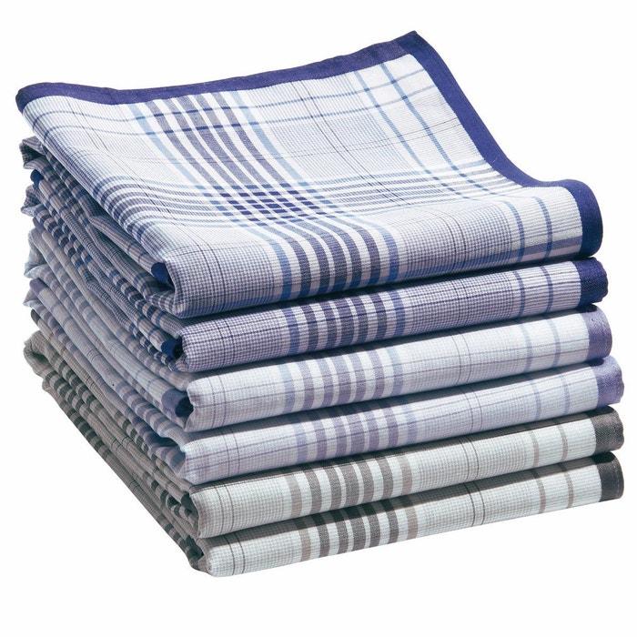 styles de mode conception adroite New York Lot de 6 mouchoirs pur coton jumel