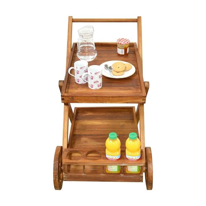 desserte en teck huil kuta cemonjardin la redoute. Black Bedroom Furniture Sets. Home Design Ideas