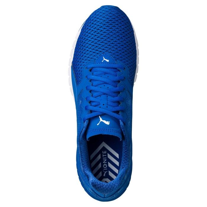 Chaussure de course ignite dual mesh pour homme lapis blue-quarry Puma
