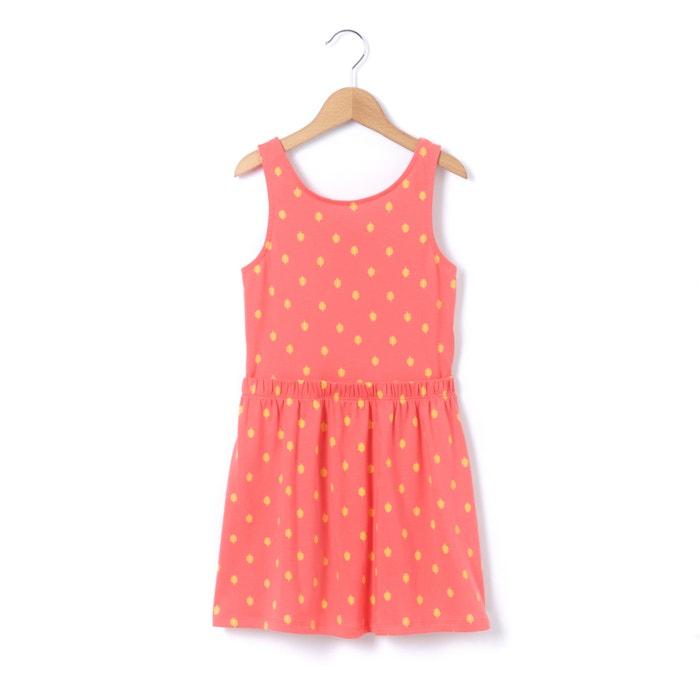 afbeelding Bedrukte jurk zonder mouwen met blote rug 3-12 jr R édition