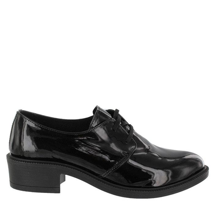 Chaussures à talons carrés et lacets noir Marta Jonsson Sortie Geniue Stockist Sast Pas Cher Forfait De Compte À Rebours Parfait Jeu Livraison Gratuite TJbnSV5wY