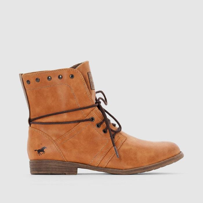 Bottines à lacets Mustang Shoes Faible Coût Pas Cher Abordables À Vendre Visite De Dégagement Choisir Une Meilleure Vente KBXVjrlHx