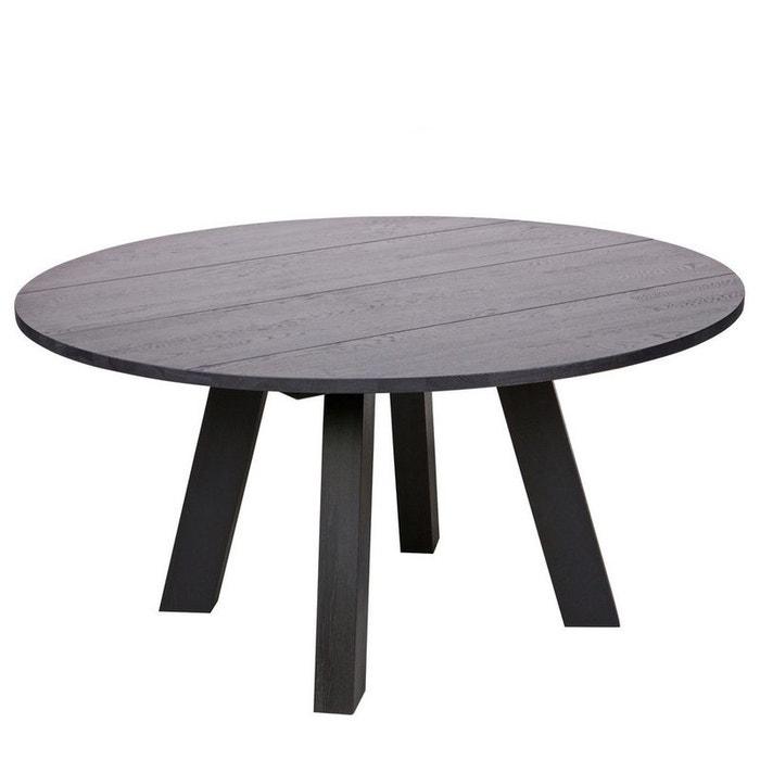 Table manger ronde 150cm en ch ne jozua drawer la redoute - Table a manger la redoute ...