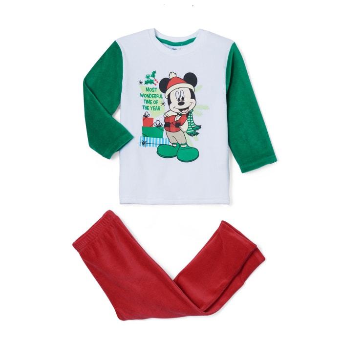 2-teiliger Pyjama aus Samt mit Weihnachtsmotiv, 2-6 Jahre  MICKEY MOUSE image 0