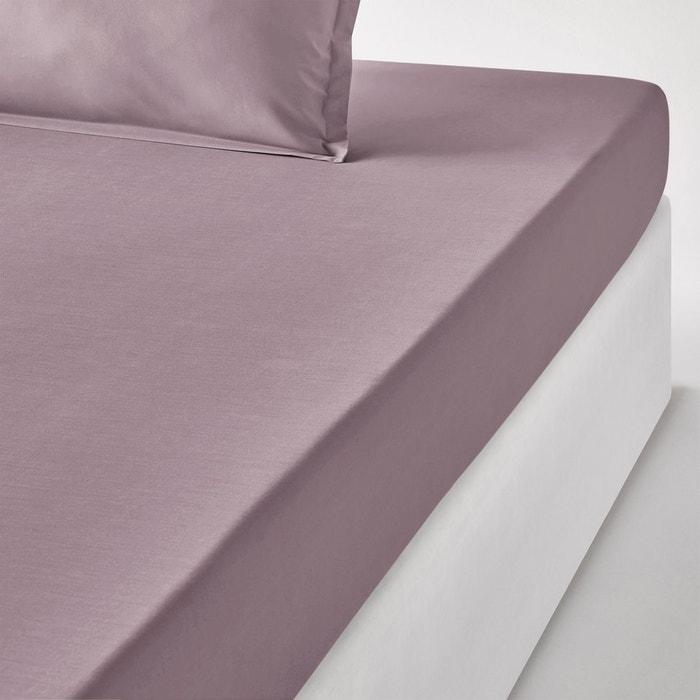 drap housse percale unie la redoute interieurs en solde la redoute. Black Bedroom Furniture Sets. Home Design Ideas