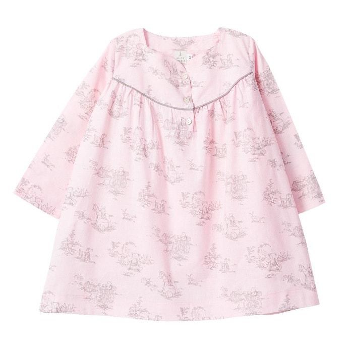 Chemise de nuit rose alice a paris la redoute - La redoute a paris adresse ...