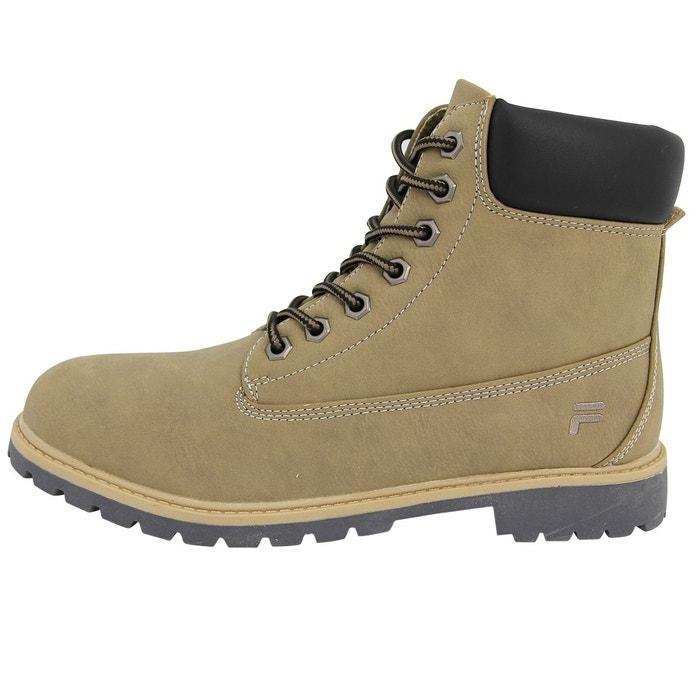 Fila maverick mid chaussures bottines homme marron Fila