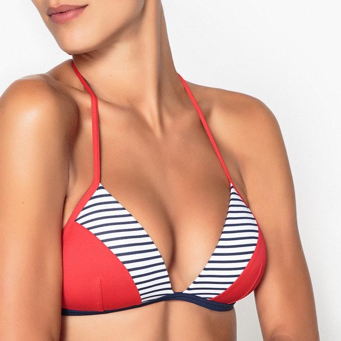 a bikini push de Collections Sujetador La Redoute rayas tri 225;ngulos de up vw7g4