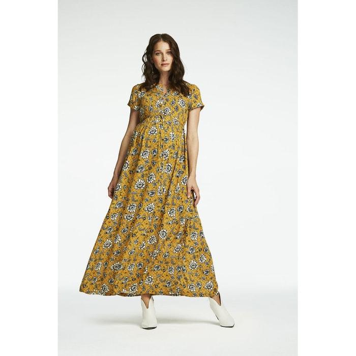 Robe Longue D Allaitement Denver Sunflower Queen Mum La Redoute
