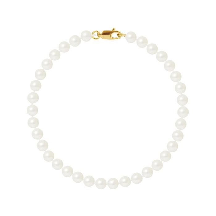 Prix De Gros Prix Pas Cher Meilleur Endroit De Sortie Bracelet or 375°°° rang véritables perles Perlinstinct | La Redoute rgxq24T5Nf