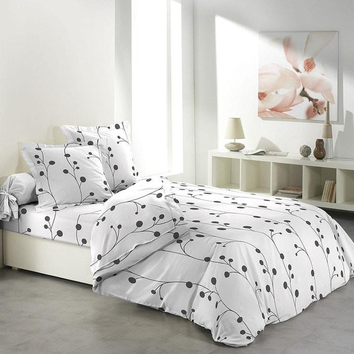 parure de drap 2 taies d 39 oreiller collection clochettes douceur d 39 int rieur la redoute. Black Bedroom Furniture Sets. Home Design Ideas