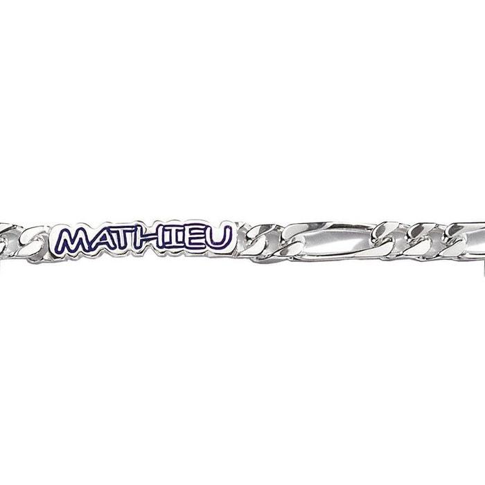 100% Authentique Bracelet 20 cm identité gourmette 1 + 2 luxe largeur 7 mm argent 925 couleur unique So Chic Bijoux | La Redoute Vente 2018 Sortie Par Carte De Crédit Vente Pas Cher Grande Vente f2cpcJwm0