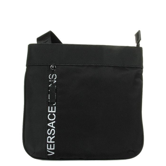 5556ec2565 Sacoche linea macrologo dis 3 noir Versace   La Redoute