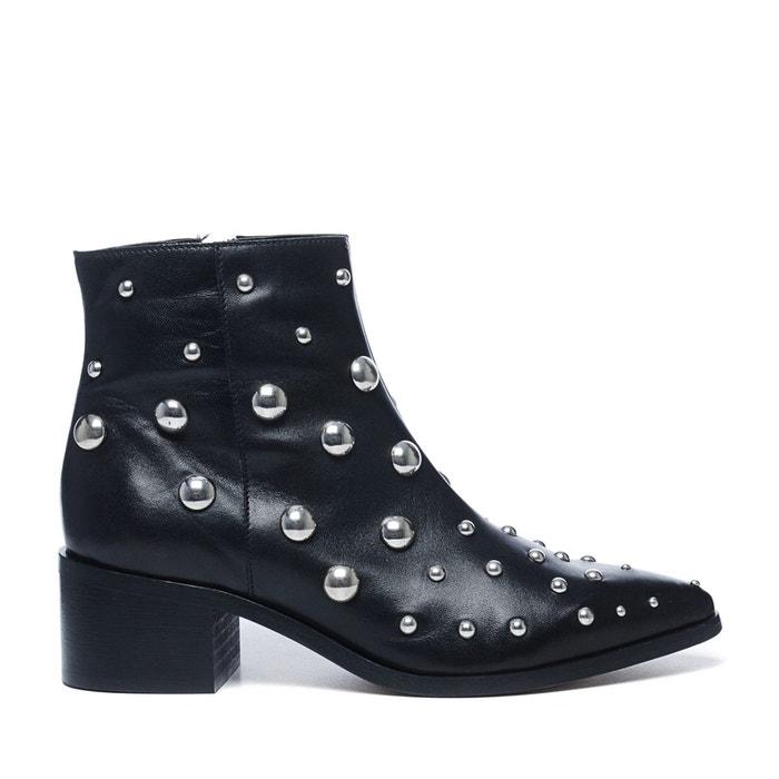 Sacha x fashionchick bottes à lacets  noir Sacha  La Redoute