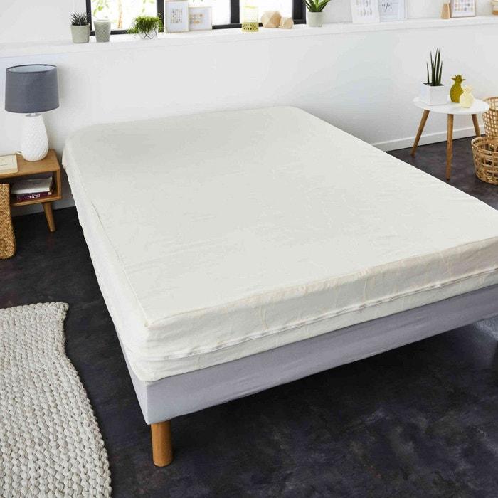 housse r nove matelas anti acariens bonnet 23 cm blanc sweetnight la redoute. Black Bedroom Furniture Sets. Home Design Ideas