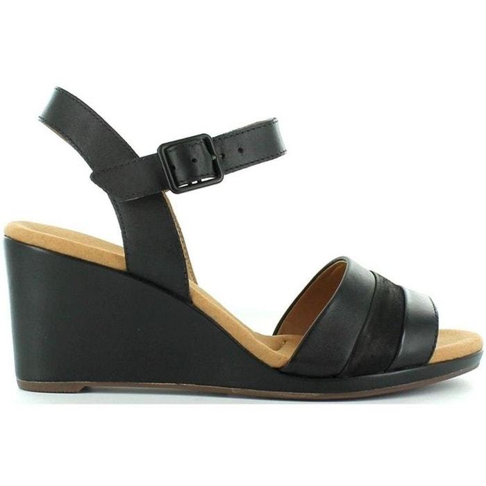 Sandales  noir Clarks  La Redoute