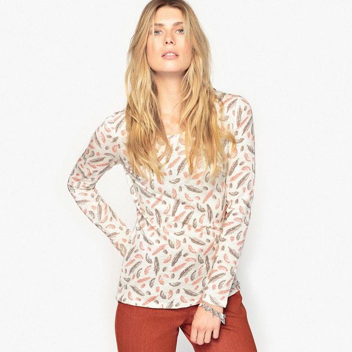 T-shirt coton flammé ANNE WEYBURN