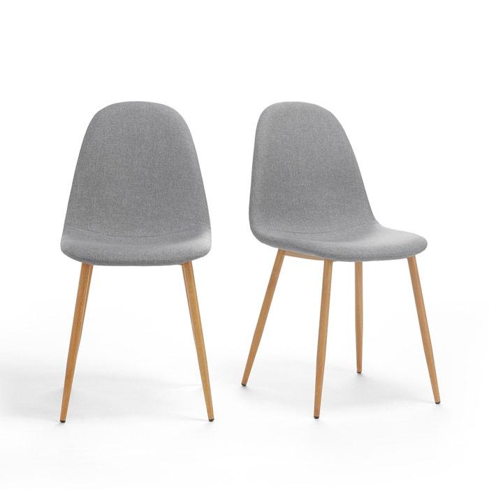 2er-Set Stühle NORDIE mit gepolsterter Sitzschale  La Redoute Interieurs image 0