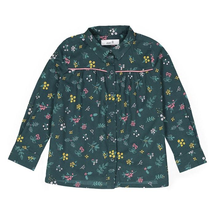 Camicia fantasia a fiori 3 - 12 anni  La Redoute Collections image 0
