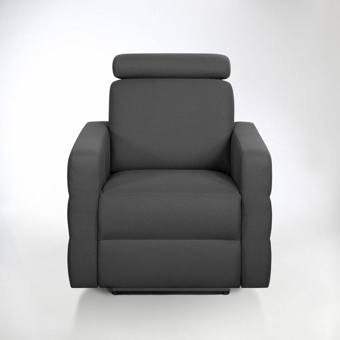 Fauteuil de relaxation coton demi natt hyriel la redoute interieurs la re - La redoute fauteuils ...