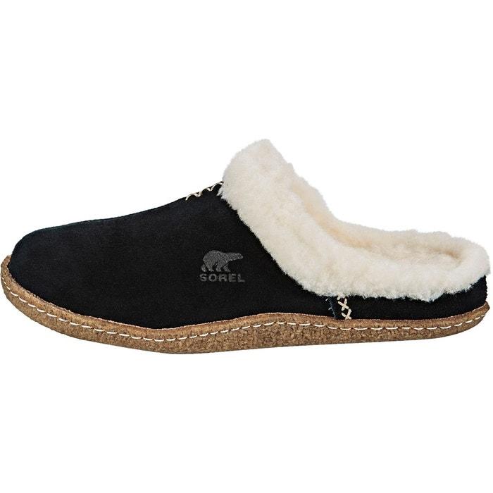 Nakiska slide - chaussons - noir Sorel
