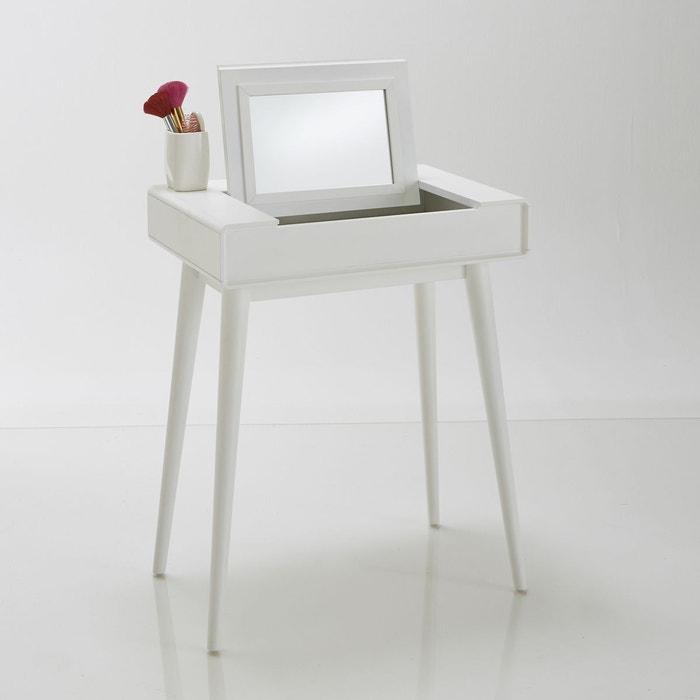 coiffeuse bureau d 39 appoint jimi blanc la redoute interieurs la redoute. Black Bedroom Furniture Sets. Home Design Ideas