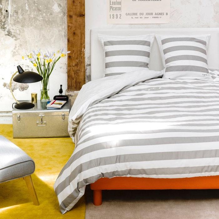housse de couette rayures agn s b pour la redou agnes b x la redoute interieurs la redoute. Black Bedroom Furniture Sets. Home Design Ideas