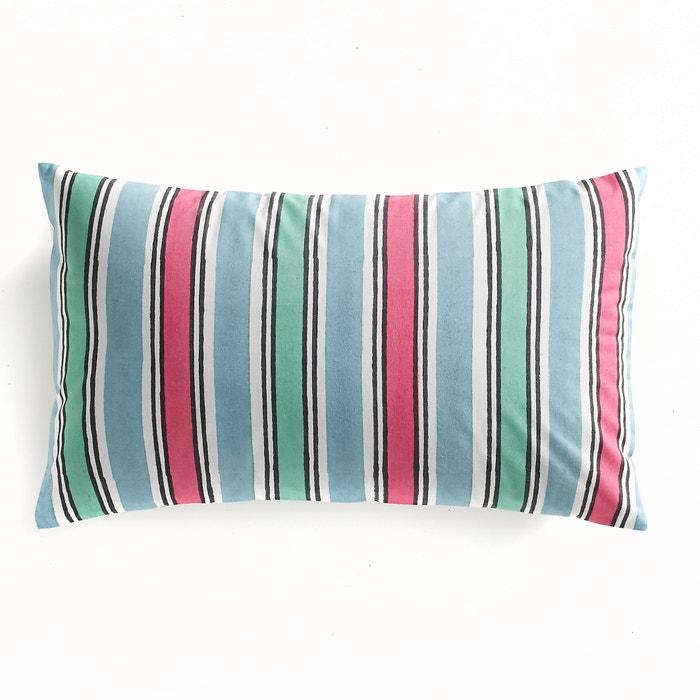 Image Federa per cuscino in popeline fantasia, Easy Summer La Redoute Interieurs