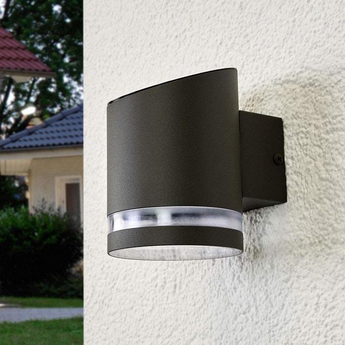 Lampe solaire extérieure en inox moderne led gris transparent ...