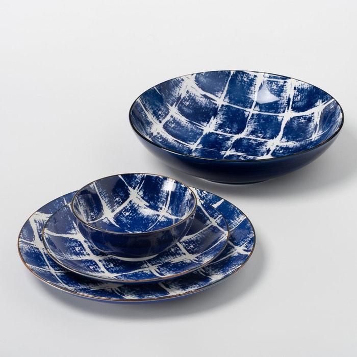 Set of 4 Malado Stoneware Dessert Plates