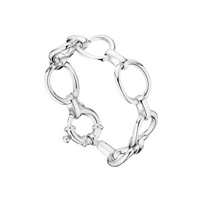 Bracelet chaîne maille les intemporels en argent 925, 38.6g argent Clio Blue | La Redoute