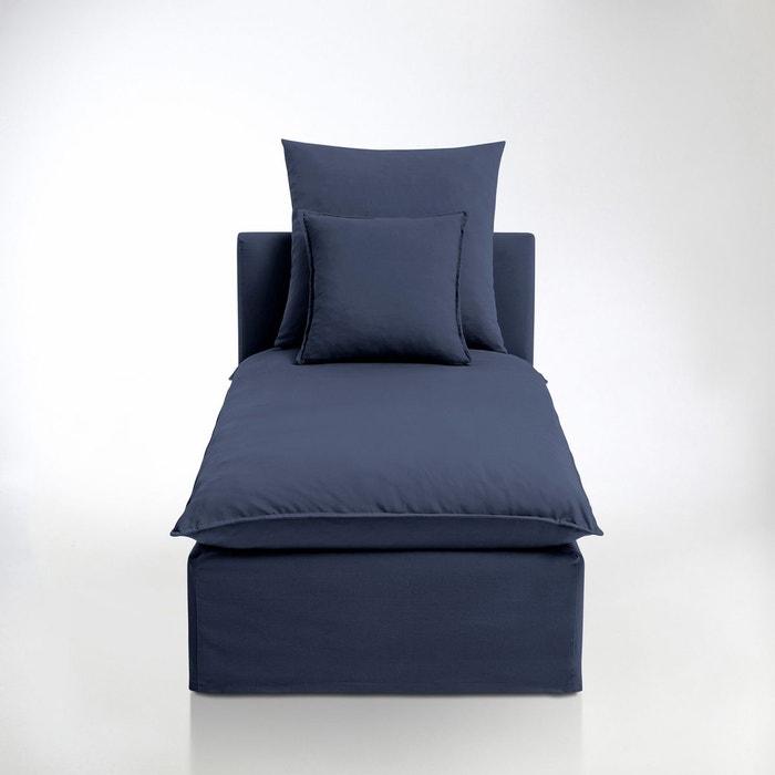 m ridienne d houssable bachette pur coton n lia la redoute interieurs la redoute. Black Bedroom Furniture Sets. Home Design Ideas