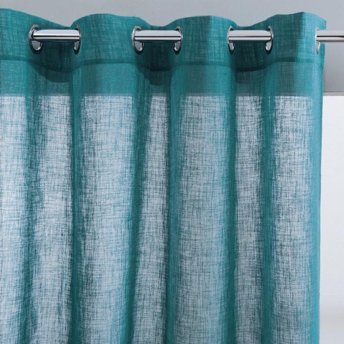 Image Voilage effet lin oeillets, NYONG La Redoute Interieurs