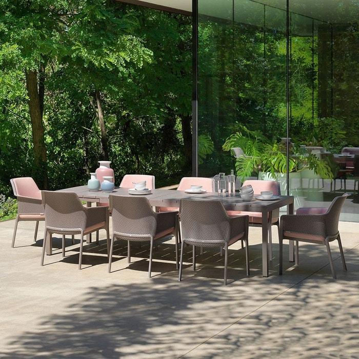 salon de jardin exterieur net rio tortora nardi la redoute. Black Bedroom Furniture Sets. Home Design Ideas