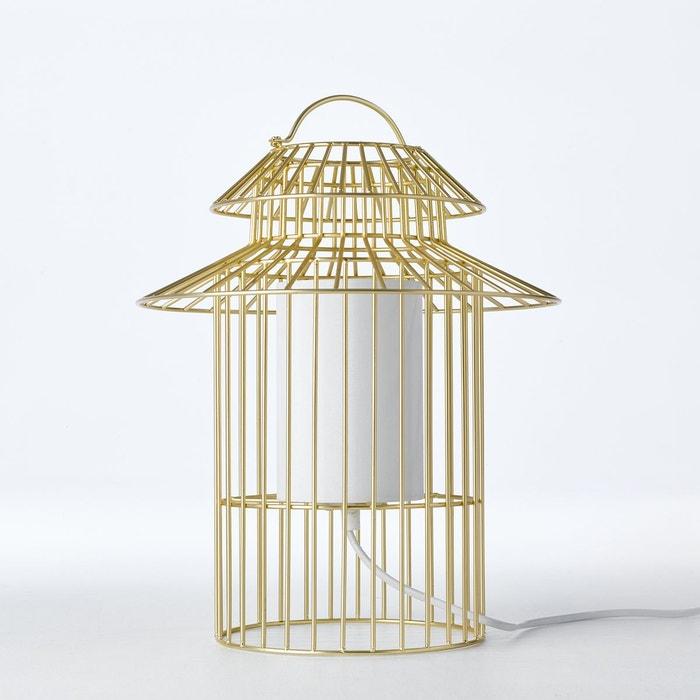 Lampe à poser enfant cage à oiseau cuicuicui métal Am.Pm | La Redoute