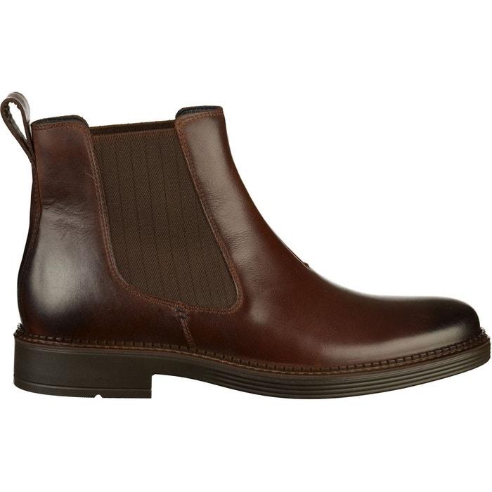 df99a793cc7 Bottines cuir marron Ecco