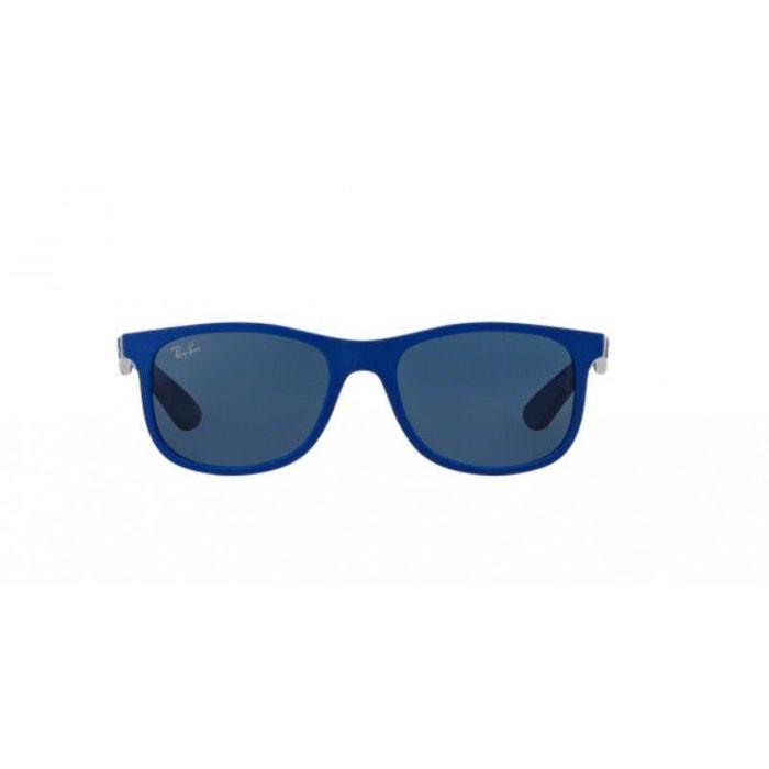 6e643e8940583c Lunettes de soleil pour enfant ray ban bleu rj 9062s 701780 48 16 bleu  marine Ray-Ban   La Redoute