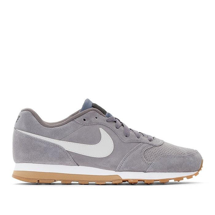 51174200df797 Baskets cuir md runner 2 suede gris Nike