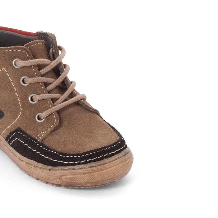 afbeelding Leren boots La Redoute Collections