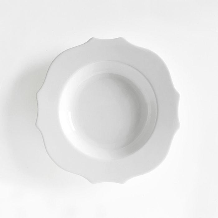 Image Assiette creuse faïence (lot de 4) MANOIR La Redoute Interieurs
