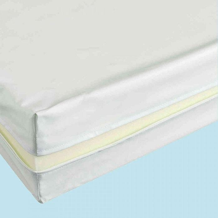 housse r nove matelas coloris blanc 13 cm blanc terre de nuit la redoute. Black Bedroom Furniture Sets. Home Design Ideas