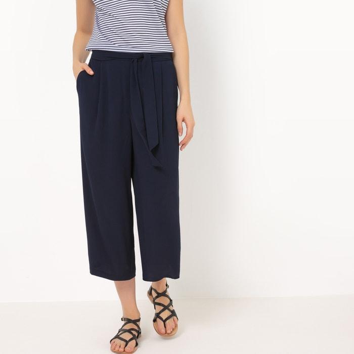 Image Pantaloni cropped, cintura da annodare R édition