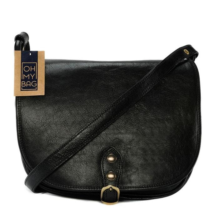 Sac à main en cuir lisse Verlaine  OH MY BAG image 0