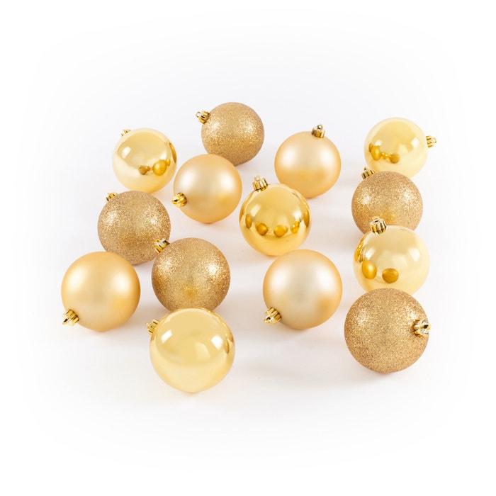 Koffer met 34 goudkleurige kerstballen, Caspar  LA REDOUTE INTERIEURS image 0